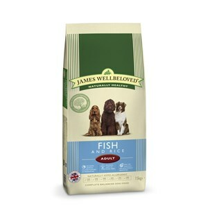 James Wellbeloved Dog Adult Fish & Rice - 15 kg