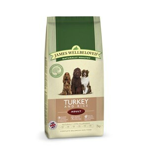 James Wellbeloved Dog Adult Turkey & Rice - 2 kg