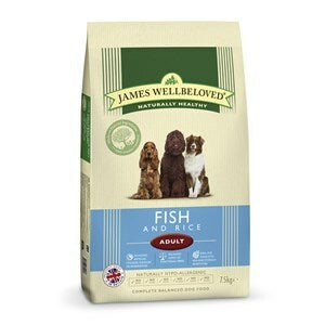 James Wellbeloved Dog Adult Fish & Rice - 7.5 kg