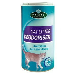 Canac Cat Litter Tray Deodoriser x6  - Outer