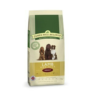 James Wellbeloved Dog Adult Lamb & Rice - 15 kg