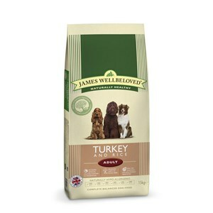 James Wellbeloved Dog Adult Turkey & Rice - 15 kg