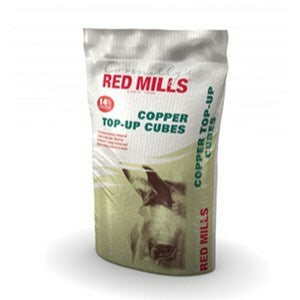 Red Mills Equine Copper Top Up Cubes - 25 kg
