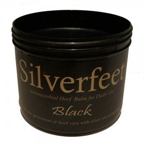 Silverfeet Antimicrobial Hoof Balm Black - 400 ml