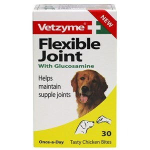 Vetzyme Flexible Joint Tablets x6  - Outer