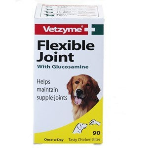 Vetzyme Flex Joint Glucose Tabs Dog 3x90 - Outer