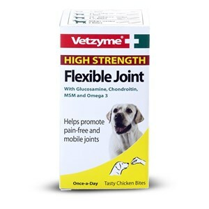 Vetzyme Flex HiStrength Joint Tabs 3x30  - Outer