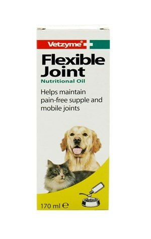 Vetzyme Flexible Joint Oil 3x150ml - Outer
