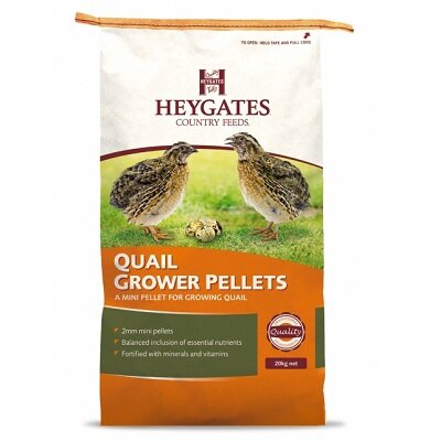 Heygates Quail Grower Pellets  - 20 kg