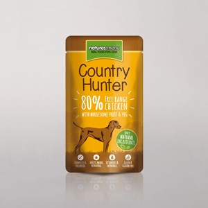 Natures Menu Country Hunter Dog Pouch Chicken 3x 6x150g