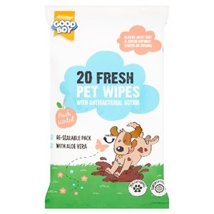 Good Boy Pet Wipes 20x15