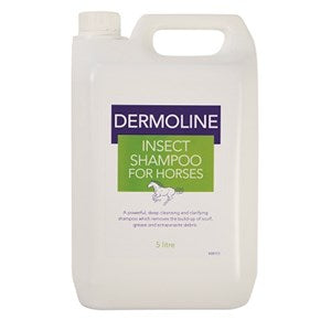 Dermoline Insect Shampoo for Horses - Various Sizes