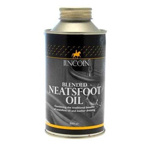 Lincoln Neatsfoot Oil for Waterproofing Leather Saddlery - 500 ml