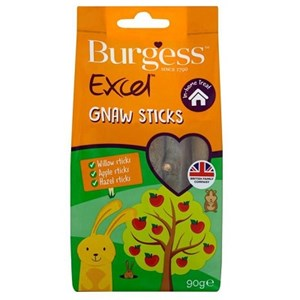 Burgess Excel Gnaw Sticks 8x90g  - Outer