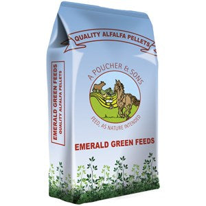 Emerald Green Alfalfa Pellets  - 20 kg