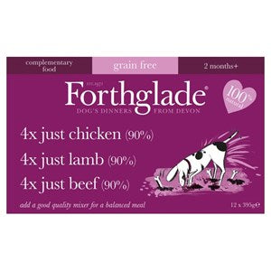 Forthglade Just Multicase Grain Free 12x 395g