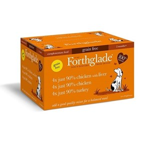 Forthglade Just Poultry Mix  Grain Free 12x 395g