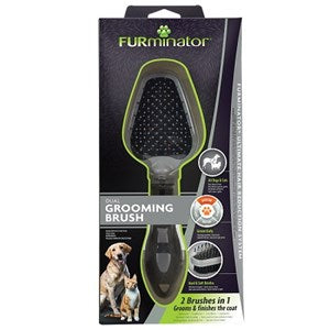 FURminator Dual Grooming Brush