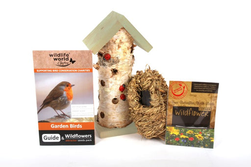 Woodland Theme Gift Pack (Featuring ladybird tower & roost pocket)