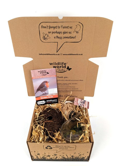 Luxury Bird Gift Pack (featuring Roost Pocket & Window Feeder)