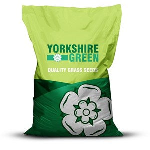 Yorkshire Green Low Maintenance Landscape Grass Seed Mixture - 10 kg