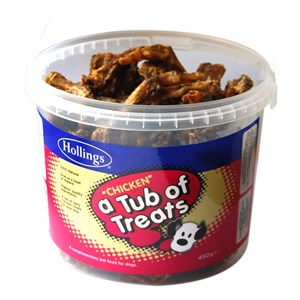 Hollings Tub Of Treats Chicken - 450 g