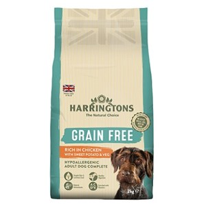 Harringtons Dog Grain Free Chicken & Sweet Potato - 2 kg