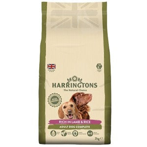 Harringtons Dog Lamb & Rice 4x2kg  - Outer