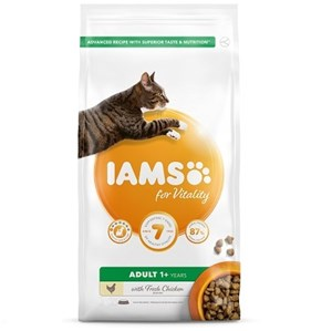 Iams Cat Adult Vitality Chicken  - 10 kg
