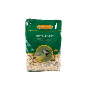 Johnston & Jeff Monkey Nuts in Shells 6x650g
