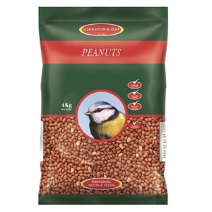 Johnston & Jeff Premium Peanuts - Various Sizes