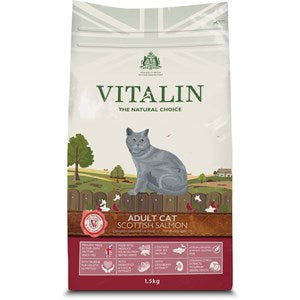 Vitalin Cat Adult Salmon - 1.5 kg