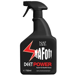 NAF Off Deet Insect Repellent Power Spray for Horses - Various Sizes