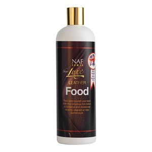 NAF Sheer Luxe Leather Food Leather Tack Conditioner - 500 ml
