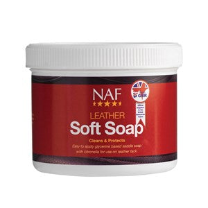NAF Leather Soft Soap - 450 g