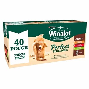 Winalot Perfect Portions Chunks in Gravey 40x 100g
