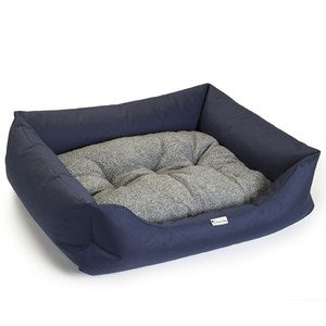 Chilli Dog Waterproof Sofa Bed Navy  - Medium