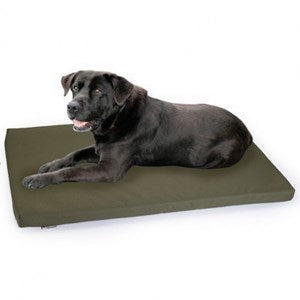 Chilli Dog Waterproof Crate Mat Olive  - XL