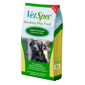 VetSpec Working Dog Adult Chicken  - 15 kg