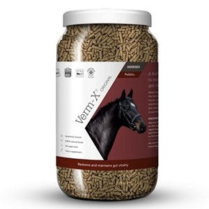 Verm-X Original Pellets Natural Herbal Supplement for Horses - Various Sizes
