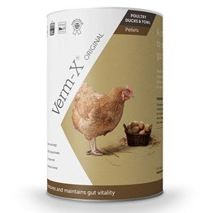 Verm-X Original Pellets for Poultry, Ducks and Fowl - Various Pack Sizes