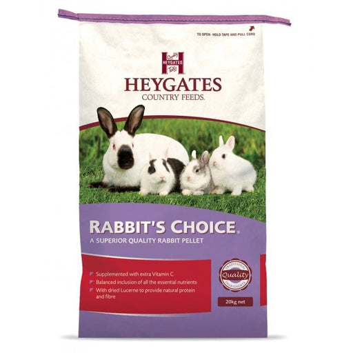 Heygates Rabbit's Choice Pellets Rabbit Feed - 20 kg