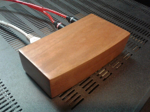 Cherry Wood External USB Sound Card
