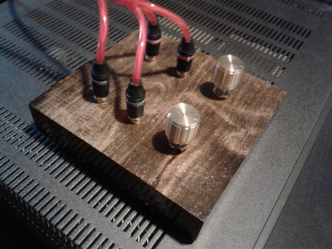 Passive Preamplifier - Handmade - Solid Maple Wood