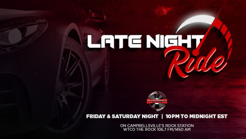 Late Night Ride Event Flyer