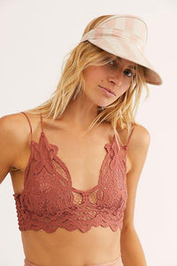 Adella Bralette - Copper - The Silver Dahlia