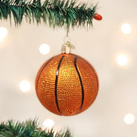 Basketball Ornament - The Silver Dahlia