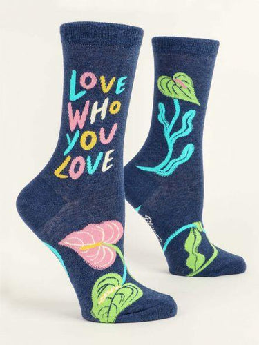 Love Who You Love Socks - The Silver Dahlia