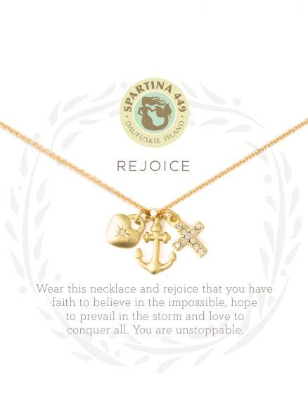 Rejoice/ Faith Necklace