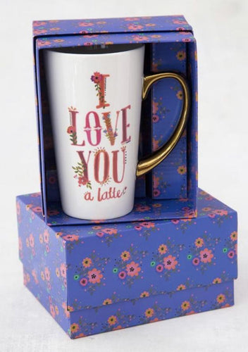 Boxed Latte Mug- Love You A Latte